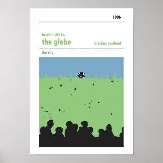 The Glebe, Brechin. Haynes Manual style print