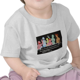 The Glee of Seniority Tee Shirts
