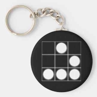 The Glider A Universal Hacker Emblem Keychain