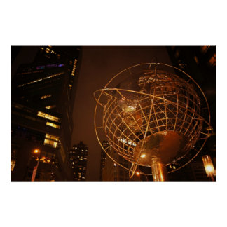 The Globe at Columbus Circle, All Sizes Posters