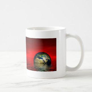 The Globe Basic White Mug