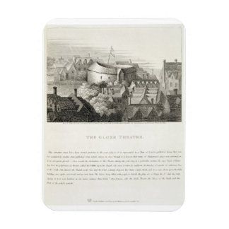 The Globe Theatre, c.1647, published by Robert Wil Vinyl Magnets