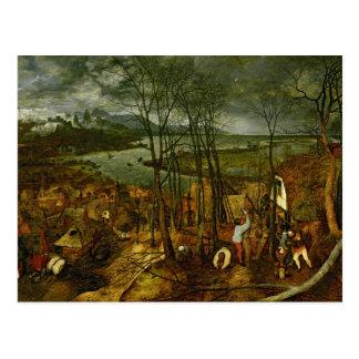 The Gloomy Day - Spring, 1559 Postcard