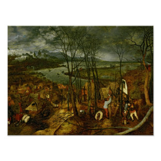 The Gloomy Day - Spring, 1559 Poster