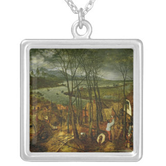 The Gloomy Day - Spring, 1559 Silver Plated Necklace