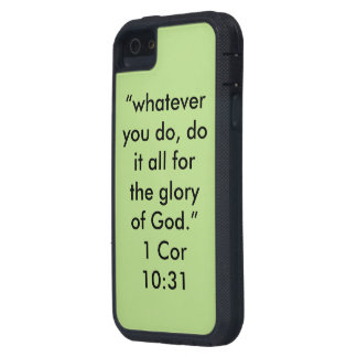 """""""The Glory of God"""" Iphone 5/5S and SE Phone Case"""