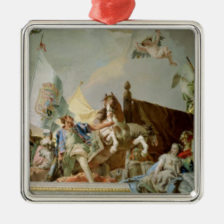 The Glory of Spain I Christmas Ornament