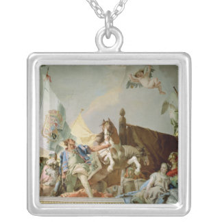 The Glory of Spain I Silver Plated Necklace