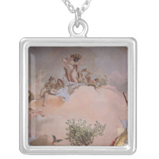 The Glory of Spain IV Silver Plated Necklace