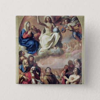 The Glory of the Saints, 1645-47 15 Cm Square Badge