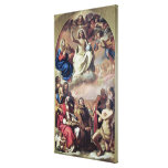 The Glory of the Saints, 1645-47 Stretched Canvas Prints