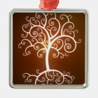 The Glowing Tree Christmas Ornament