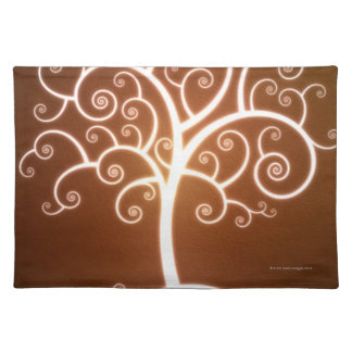 The Glowing Tree Placemat
