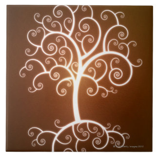 The Glowing Tree Tile