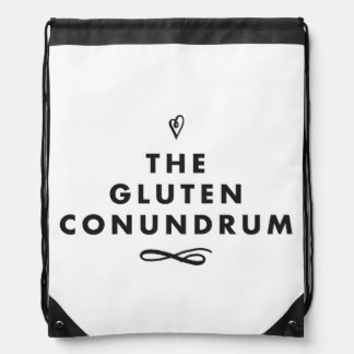 The Gluten Conundrum On-The-Go Bag Backpacks