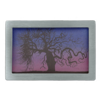 The Gnarly Tree Belt Buckle