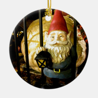 The Gnome and The Giant Christmas Tree Ornament