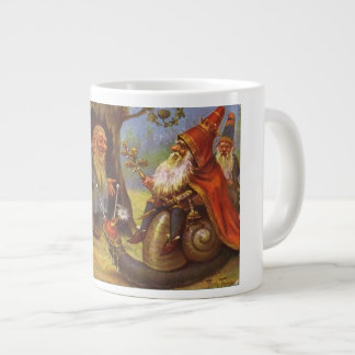 The Gnome King's Visit Mugs and Drinking Cups
