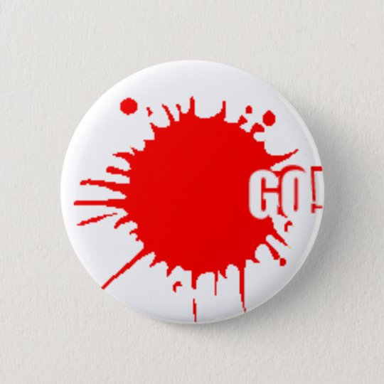 The go-badge 6 cm round badge