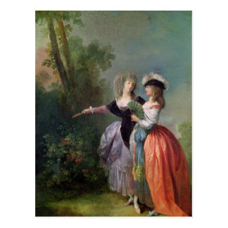 The Go-Between, 1780 Postcard