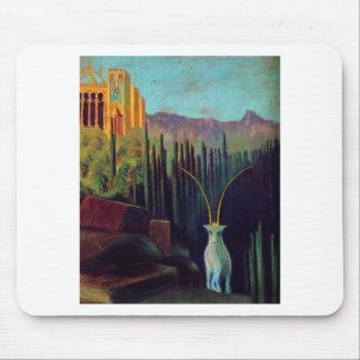 The goat by Mikalojus Ciurlionis Mouse Mat