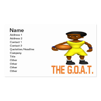 The Goat Pack Of Standard Business Cards