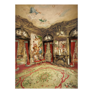 The Gobelin Tapestries Linderhof Palace Poster