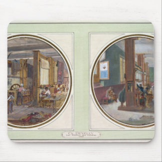 The Gobelins Workshop, 1840 Mouse Pad