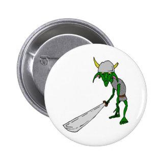 The Goblin 6 Cm Round Badge