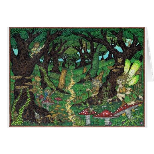 The Goblin Wood, Fairy Woodland Card