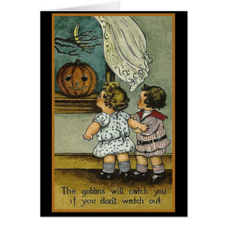 The Goblins Will Catch You Halloween Cards