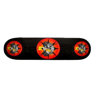 The god of wealth way 21.3 cm mini skateboard deck