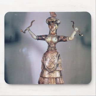 The Goddess of the Serpents Mouse Pad