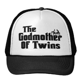 The GODMOTHER of TWINS Hats