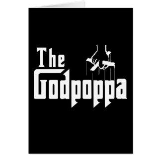 The Godpoppa Fun Father's Day Apparel Greeting Card