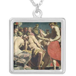 The Gods of Olympus Silver Plated Necklace