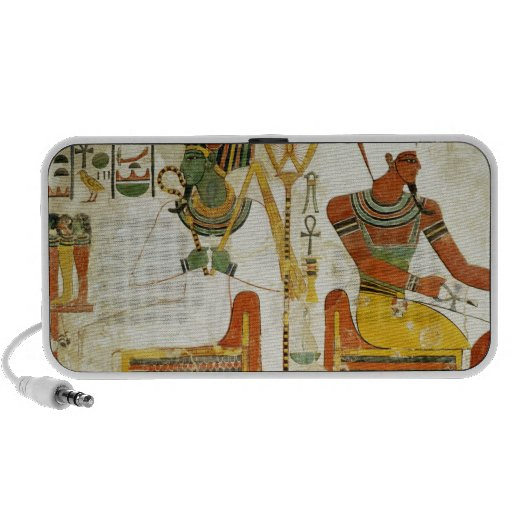 The Gods Osiris and Atum, from Tomb of Portable Speaker