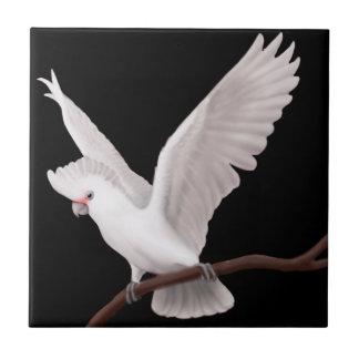 The Goffins Cockatoo Parrot Tile