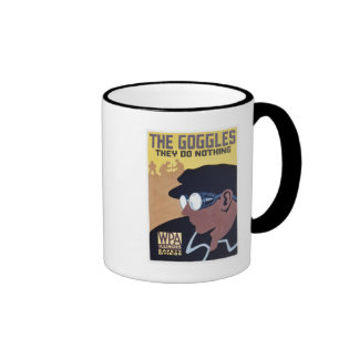the goggles they do nothing ringer mug