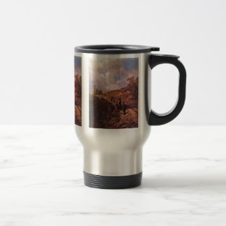 The Going To The Church By Spitzweg Carl Coffee Mugs