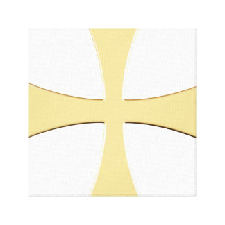 THE GOLD CROSS CANVAS PRINT