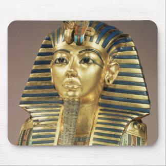 The gold funerary mask, from tomb of mouse mat