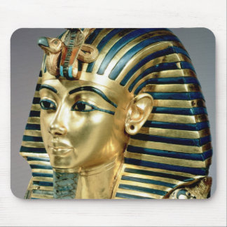 The gold funerary mask, from tomb of Tutankhamun Mouse Mat