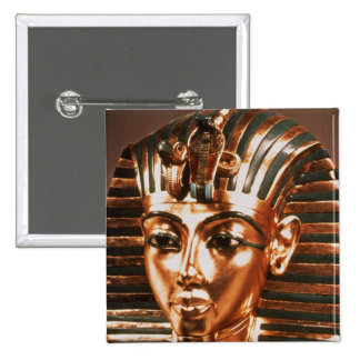The gold mask, from the Treasure of 15 Cm Square Badge