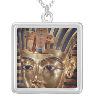 The gold mask, from the Treasure of Silver Plated Necklace