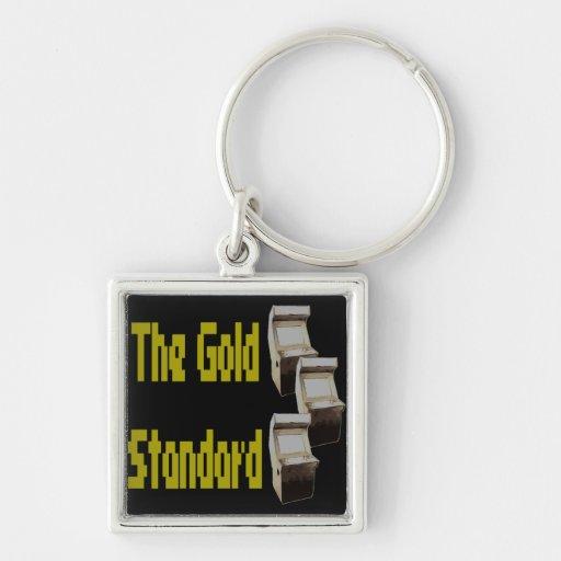 The gold standard arcade keychain