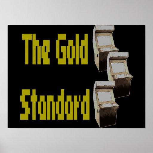 The gold standard arcade print