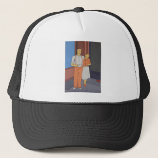The Golden Age Of Bliss Trucker Hat
