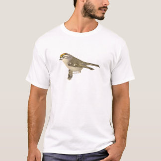 The Golden-crested Kinglet	(Regulus satrapa) T-Shirt
