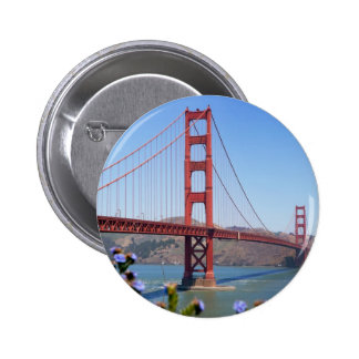 The Golden Gate 6 Cm Round Badge